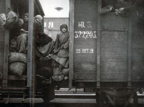 Russian Refugees 1919