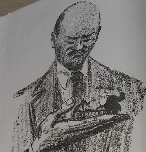Lenin Cartoon