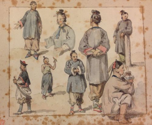 Chinese Figures from Nature Add MS 35300