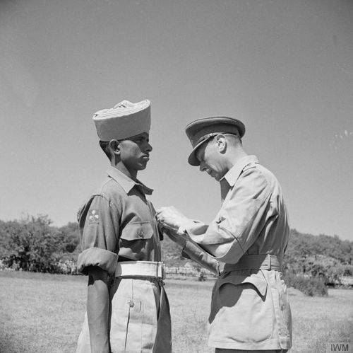 Indian soldier VC IWM