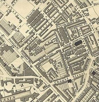 Greenwood map 1827 Marylebone