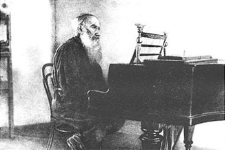 Tolstoy playing