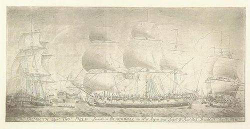 East Indiaman Falmouth
