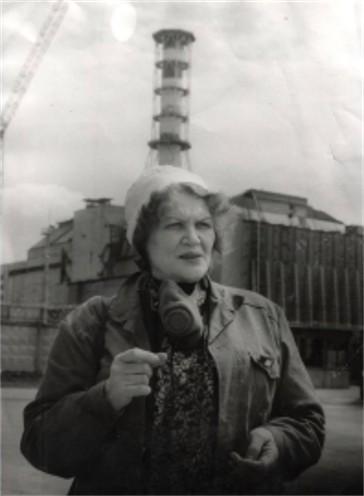 Kostenko Lina in Chornobyl