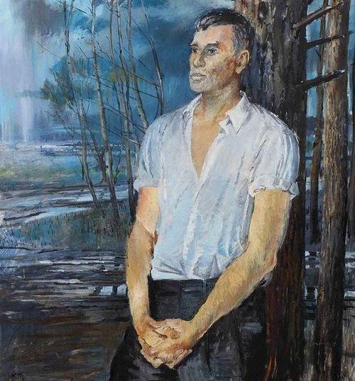 Pasternak portrait Yury Pimenov