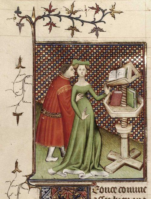 Image result for medieval manuscript prostitute