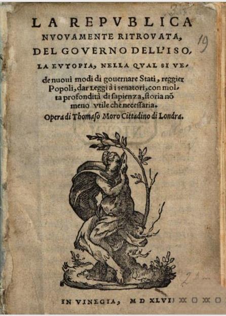 Utopia Italian Venice 1548