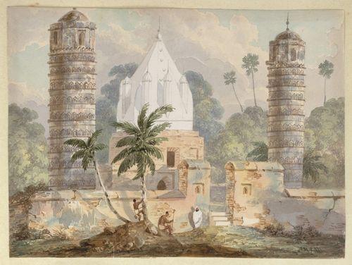 WD4404 fol 25 Ancient puillars at Bhagalpur