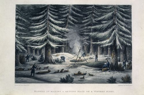 Franklin overland camp
