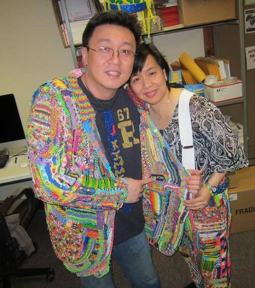Choon Ng and his wife Fen