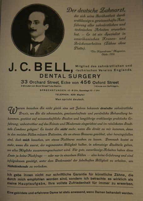 Deutsche Kolonie Zahnarzt