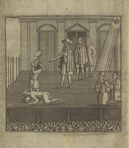 Charles I execution