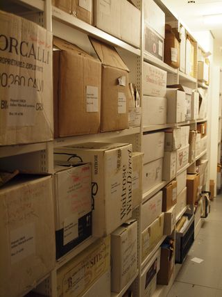 JM archive boxes