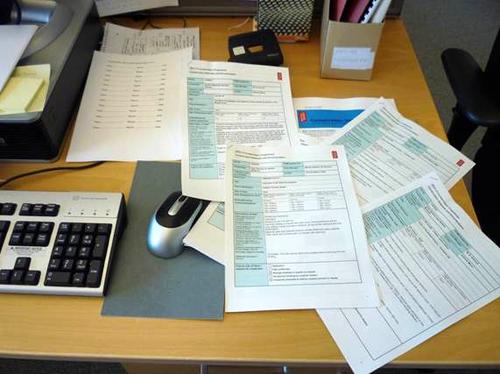 Estimate forms