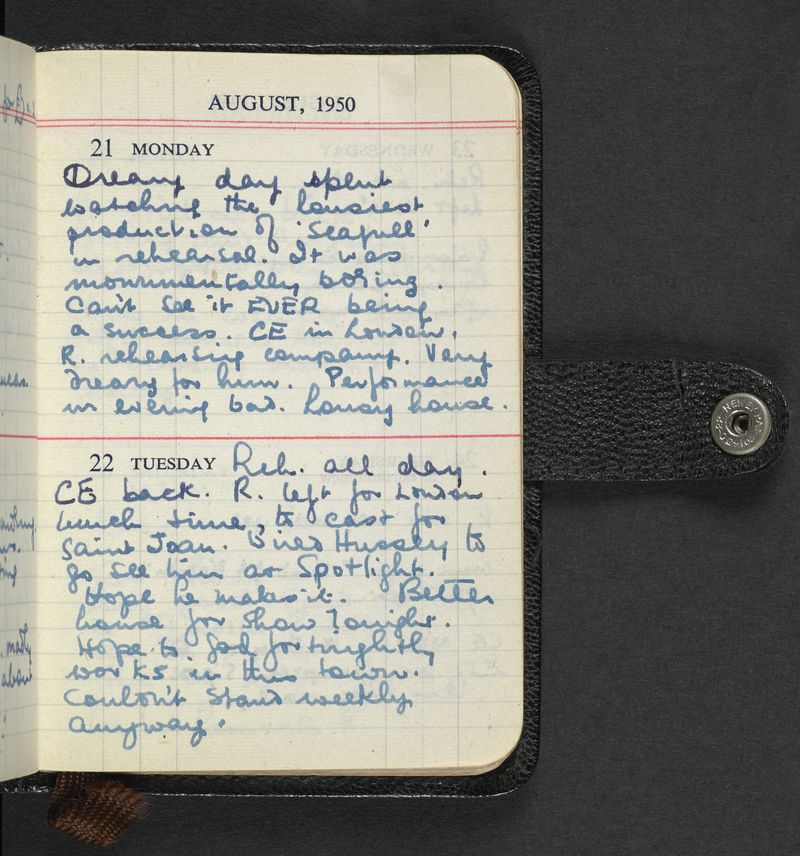 Image result for journal entries from 1950