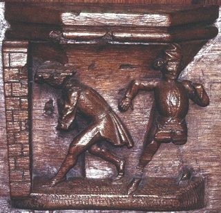 Proverbs misericords 1