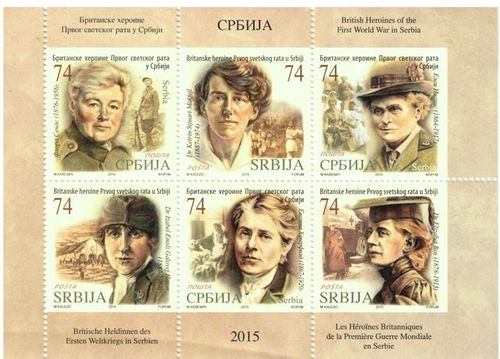 British Heroines in WW1 Serbia