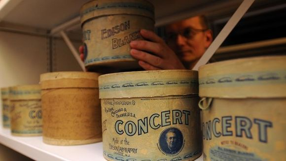 Edison Concert Cylinder