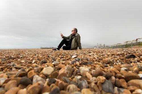 Martyn Ware Brighton beach