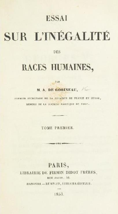 arthur de gobineau books