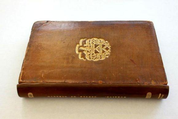 Leather bound volume
