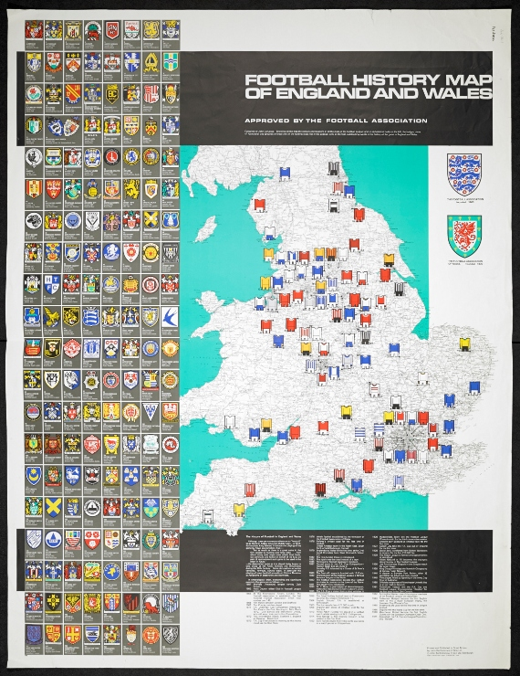 1971 A Football Heritage Map Maps and views blog