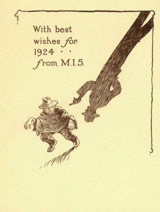 MI5 Christmas card
