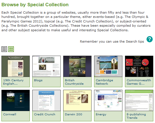 UKWA-Specialcollections_Screenshot