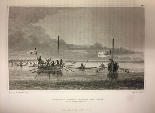 Inuit boats (Franklin Second Journey)