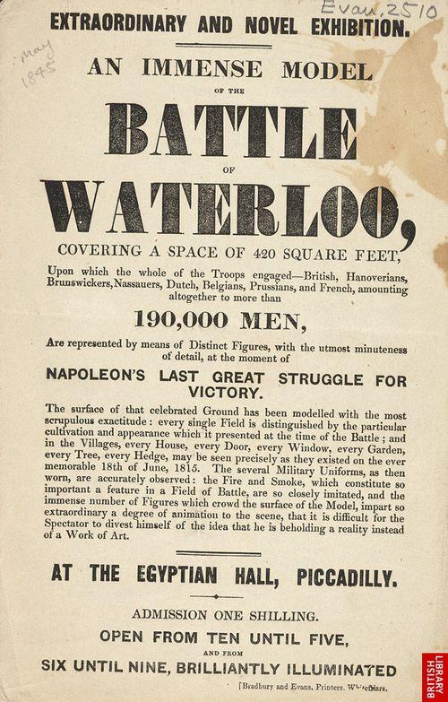 Waterloo exhibition