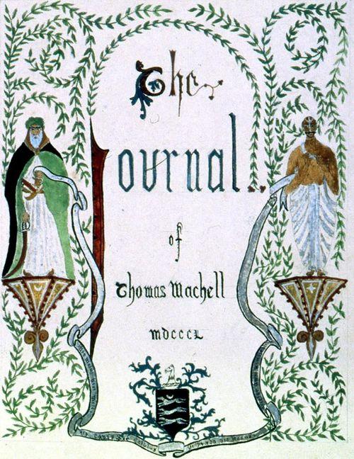 Machell Journal cover