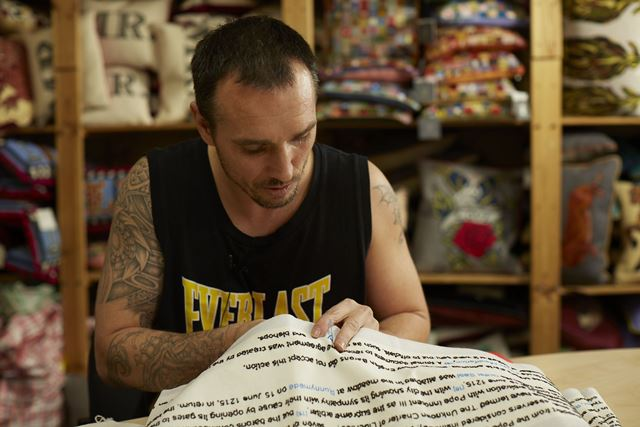 Chris-parsons-embroidery-magna-carta-cornelia-parker