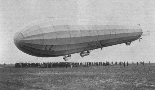 Zeppelin raid 1