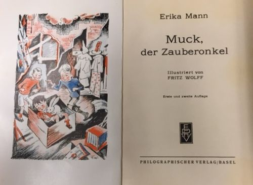 Erika Mann Muck der Zauberonkel tp