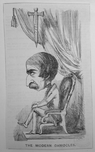 Louis-Napoleon Modern Damocles