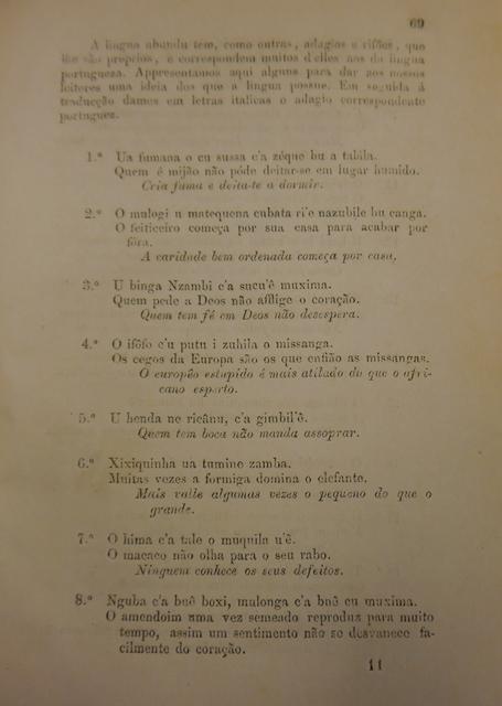 Elementos Grammaticaes proverbs