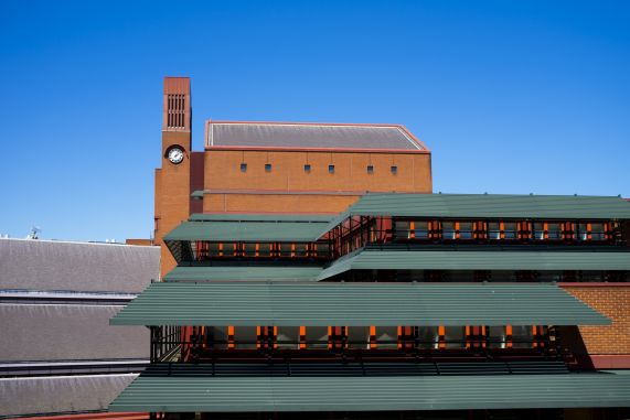 British Library Reading Room Roof (Credit Tony Antoniou)