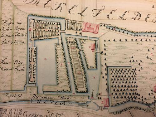 Maps K.Top.100.34. [detail of mill buildings]