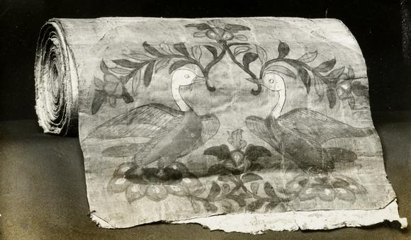 Original position of silk cover