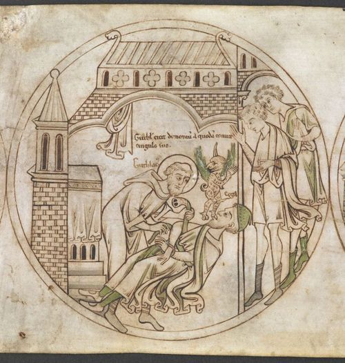 Guthlac exorcism
