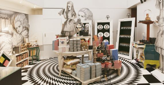 e487dc77a How do you create an Alice in Wonderland Pop-up Shop? - Living ...