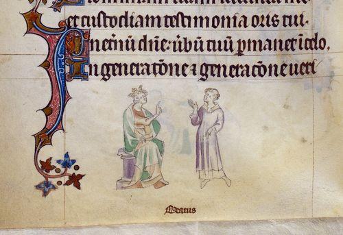 Detail Royal 2 B VII f. 249v
