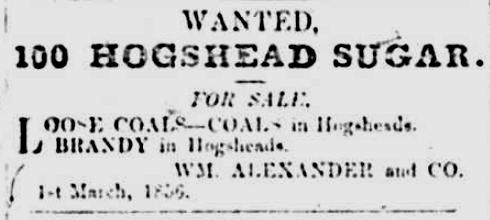 Royal Gazette 4 Mar 1856