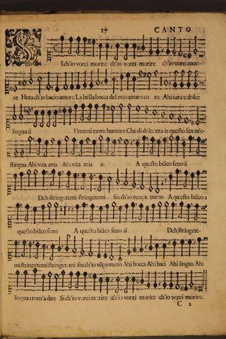 Monteverdi, Madrigals Book 4, Canto