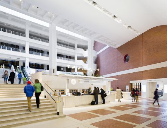 The British Library Front Hall (credit Paul Grundy)