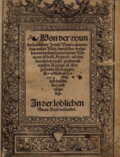 Utopia German Basel 1524
