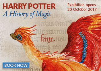 Harry Potter: A History of Magic book tickets now