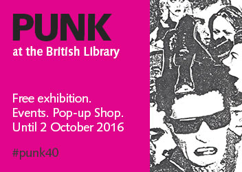 Punk at the British Library