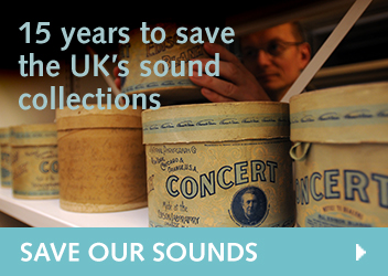 15 years to save the UKs sound collections: Save Our Sounds